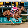 January 26, 2019, issue 4, cover of Blood Horse, Fast Break: War of Will starts Triple Crown season with romp in the Lecomte, Also Inside: First Derby Dozen: Game Winner No. 1, John Velazquez 6000 win machine, Luca Cumani retires, On the cover: War of Will wins the Lecomte Stakes G3, at Fair Grounds Race Course & Slots, January 19, 2019