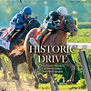 June 15; 2019; issue 24; cover of Blood Horse; Historic Drive: Tracy Farmer's homebred Sit Winston passes Test of the Champion, On the cover: Sir Winston and Joel Rosario the 151st Belmont Stakes Presented by NYRA Bets at Belmont Park on June 8, 2019