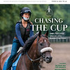 October 31; 2020; issue 44; cover of Blood Horse; Chasing The Cup: GMB's Tom d'Etat takes aim at the Breeders' Cup Classic, Also Inside: Pre-Entry Past Performances, Breeder/Owner Alex Campbell Jr., 2020 Racing without Lasix, On the cover: Tom's d'Etat and Clare Court exercising on the training track at Saratoga Race Course on August, 7, 2020