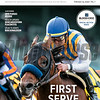 February 15; 2020; issue 7; cover of Blood Horse; First Serve: Nadal aces initial stakes test in the San Vicente; Also Inside; 2019 Purses Review, Health Update: Noncardioform Placentitis, Spun to Run's Bob Donaldson; On the cover: Nadal and Joel Rosario win the San Vicente Stakes (G2) at Santa Anita Park on February 9, 2020