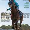 July 25; 2020; issue 30; cover of Blood Horse; Real Deal: Authentic Secures First Grade 1 Win in Haskell, Also Inside: Tim and Anna Cambron, OBS July 2-YEar-Old Sale, In My Opinion: Bill Oppenheim, On the cover: Authentic with Mike Smith win the TVG.com Haskell Stakes (G1) at Monmouth Park on July 18, 2020