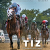 June 27; 2020; issue 26; cover of Blood Horse; Tiz Gone: Tiz the Law rolls by 3 3/4 lengths, Also Inside: Belmont Stakes Results, On the cover: Tiz the Law and Manny Franco win the Belmont Stakes Presented by NYRA Bets (G1) at Belmont Park on June 20, 2020