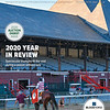 December 19/26, 2020; issue 52; cover of Blood Horse; 2020 Year in Review: Spectacular triumphs fill the void during a season without fans, On the cover: Tiz the Law is lead into the winner's circle after his win the Grade 1 Travers Stakes on August 8, 2020 at Saratoga Racetrack in Saratoga Springs, NY.