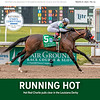 March 27, 2021 issue 13; cover of BloodHorse; Running Hot: Hot Rod Charlie pulls clear in the Louisiana Derby,