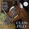 October 2021 issue 20, cover of BloodHorse, Class Filly: In-Depth Look at Breeding of Malathaat. Also inside: Unrivaled Collection: Juddmonte to Continue Legacy of Its Founder, Chad Brown's Steady Drive to Stay On Top, Round Table: Industry Leaders Outline New Approaches, and more. On the cover: Shadwell Stable's Malathaat reaffirmed her status as the country's top 3-year-old filly after her Alabama score Anne M. Eberhardt Photo