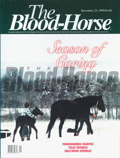 December 23, 1995 Blood-Horse cover