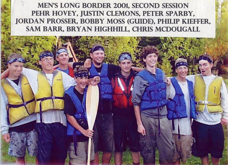 2001 Mens LB 2B