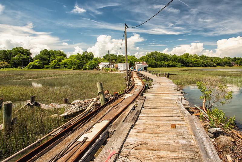 Backman's Seafood dock