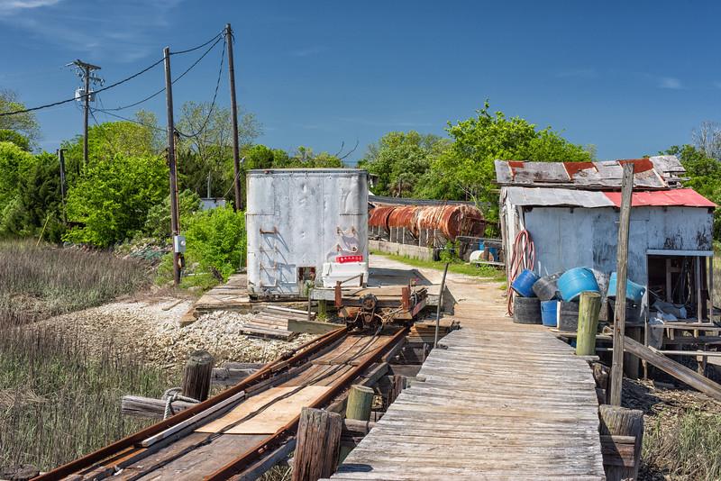 Backman Seafood dock