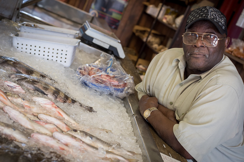 Fresh fish from Backman Seafood