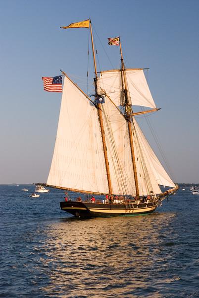 Tall Ships Parade of Sail, Charleston Harbor Festival 2007