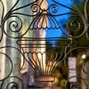 St. Michael's Episcopal Church - wrought iron gates