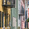 Rainbow Row, East Bay Street