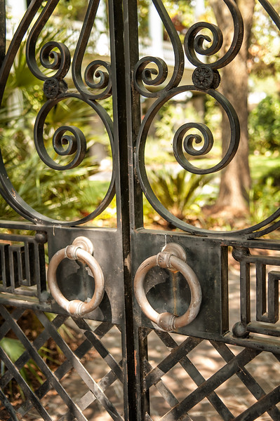 Legare Street gate detail