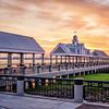 Waterfront Park, Charleston, South Carolina at dawn