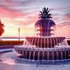 The Pineapple Fountain, Waterfront Park, Charleston, SC