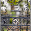 Detail of wrought iron gate, St. Michael's Church, Charleston, SC