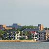 Charleston skyline from the harbor