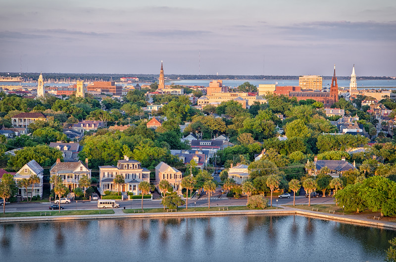 City of Charleston and Colonial Lake
