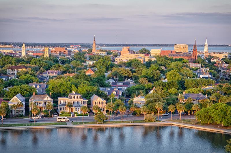 Historic City of Charleston and Colonial Lake