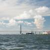 Patriot's Point from Charleston harbor
