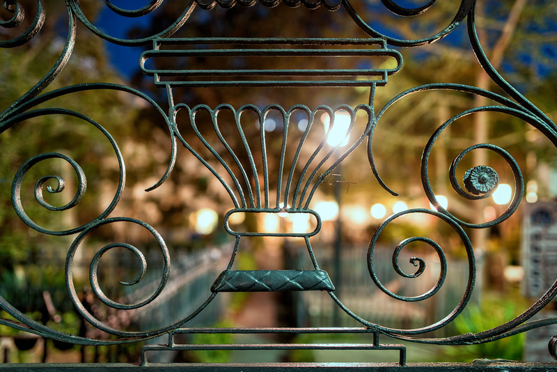 Wrought Iron Gate, St. Michael's Church