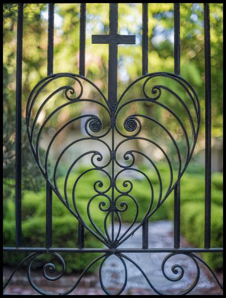 Philip Simmons Heart Gate