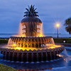 The Pineapple Fountain, Waterfront Park