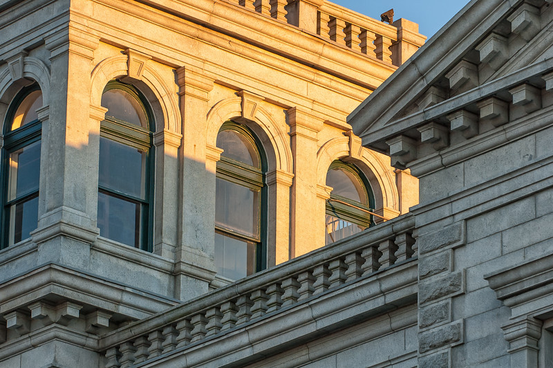 Architectural detail, US Post Office, Broad Street, Charleston, SC