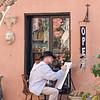 Artist on East Bay Street