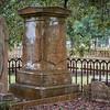 Beautiful stonework at Magnolia Cemetery