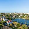 Views of Colonial Lake and Charleston