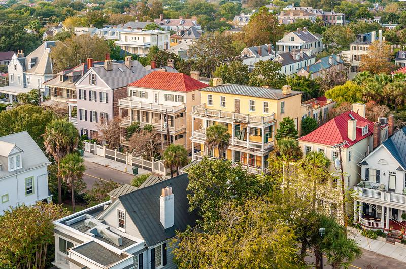 Charleston rooftops