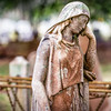 Statue of Woman at Magnolia Cemetery