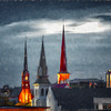 A Tale of Three Steeples