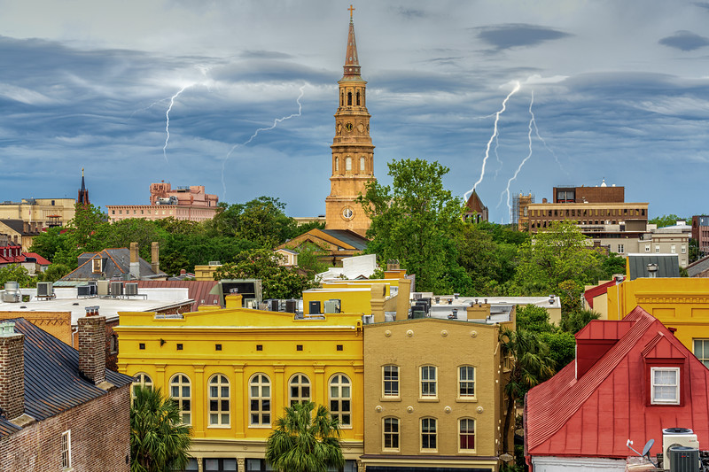 Stormy Skies over Charleston