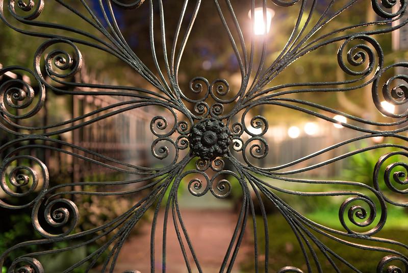 Wrought Iron gate, St. Michael's Church