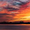 Charleston City Skyline from Patriots Point