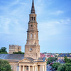 St. Philips Church on Church Street, Charleston, SC