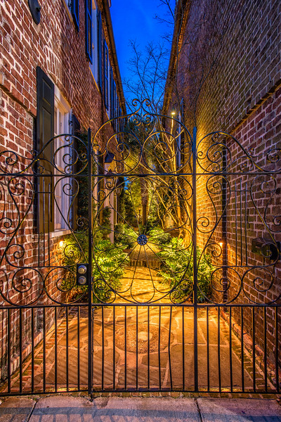 Residential Wrought Iron gate on King Street