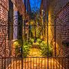 Wrought Iron gate on King Street