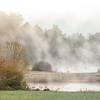 Early Morning Mist, Deerwoode Resort and Cabins, Brevard, NC