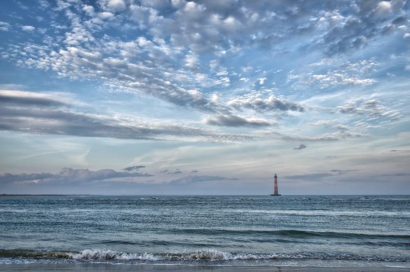 Morris Island Lighthouse, Lighthouse Inlet, Charleston, SC