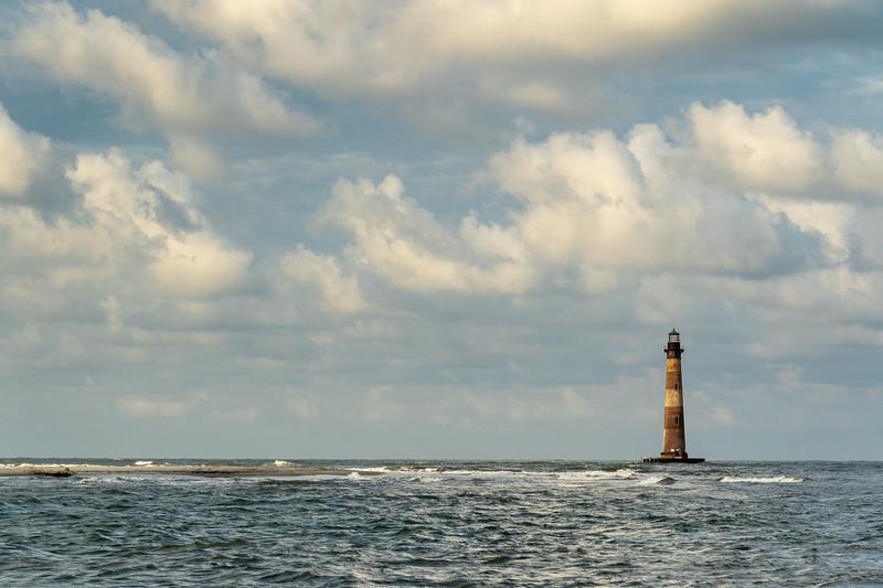 Morris Island Lighthouse, Lighthouse Inlet