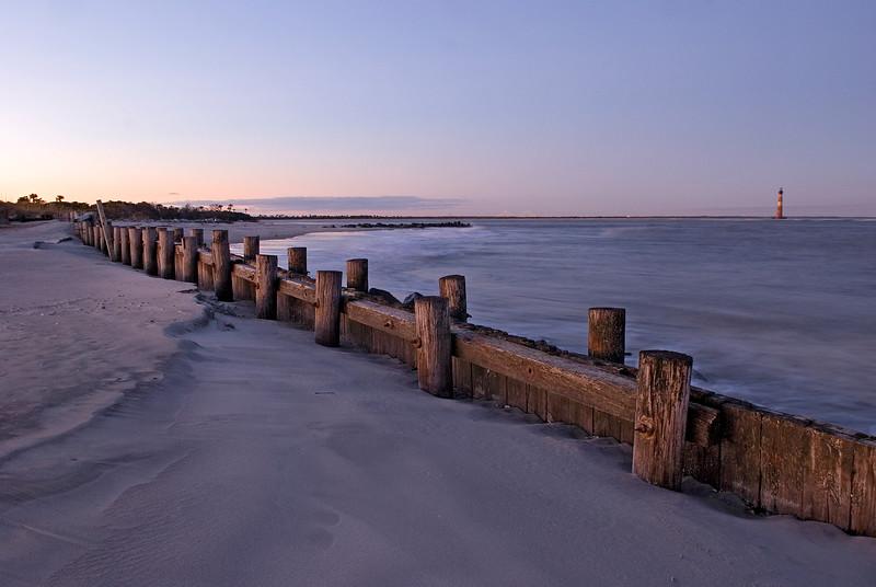 Evening at Folly Beach