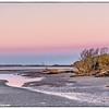 Pre-dawn light at the West end of Folly Beach