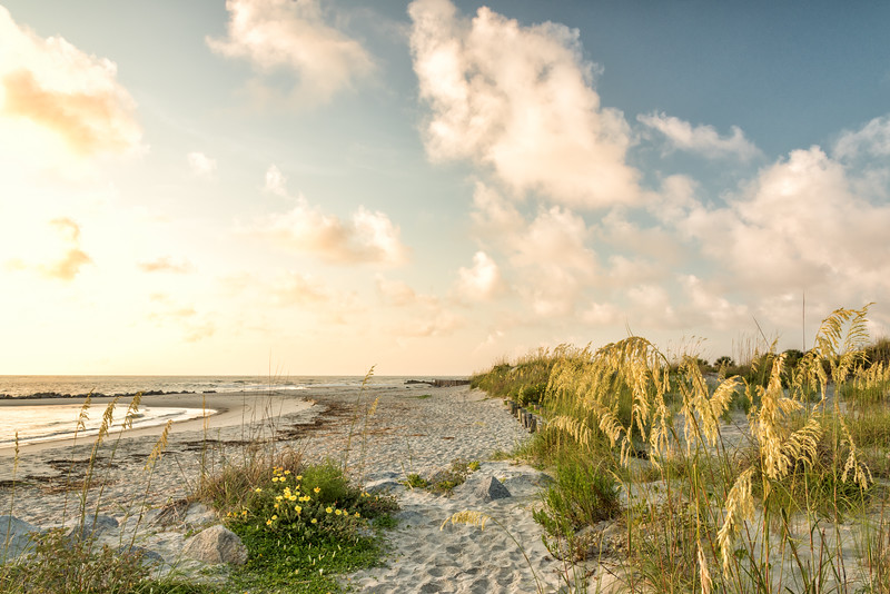 Folly Beach Morning