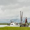 Luck Chalm shrimp trawler, Folly Creek
