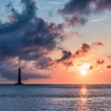 Sunrise and Morris Island Lighthouse 2