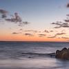 Pre-dawn light at Folly Beach